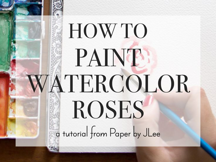 Lately, I've been painting a lot of roses for a client's upcoming wedding. After some watercolor trial-and-error I landed on a pretty easy way to paint these tricky flowers and I thought I would share them with you.