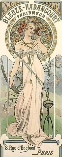 Art: Alfons Mucha  ~Bleuze Hadancourt Parfumeur~
