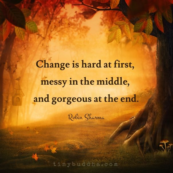Change seems hard to those that are not willing to Change, but for those of us Embracing it are creating it. <3 -Mary Long-
