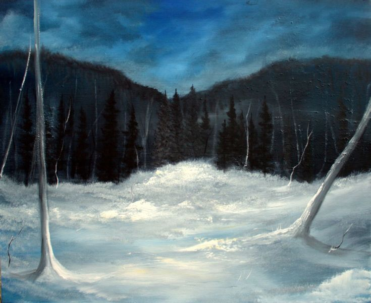 Buy Winter night in Vidalen, Oil painting by Heidi Irene Kainulainen on Artfinder. Discover thousands of other original paintings, prints, sculptures and photography from independent artists.