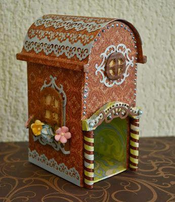 LenchHobby: Чайный домик с покатой крышей + мини МК