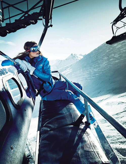 Ski chic #Cimalpes