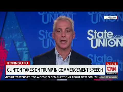 Rahm Emanuel Gets Really Uncomfortable Over Questions About Clinton Potentially Running for President Again