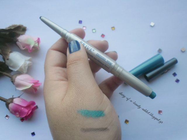 PRIVE Waterproof Double Eye Makeup Pencil Granite Blue Spirit