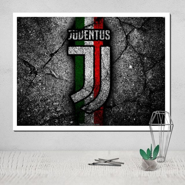 Juventus Canvas Painting Oil Painting Wall Poster Painting Canvas Painting Calligraphy Art Print Oil Painting Latest juventus room paint color