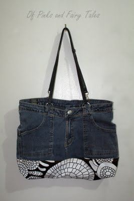 Old Jeans to Bag