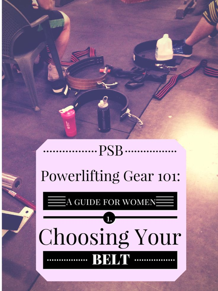 Powerlifting Gear for Women-