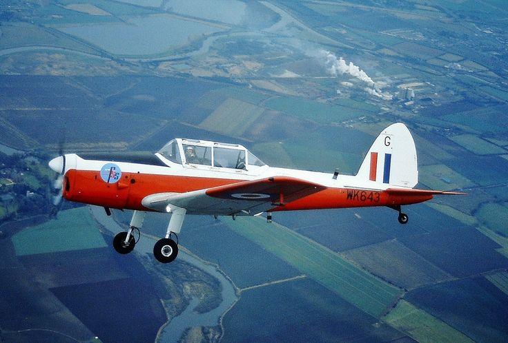 De Havilland Chipmunk WK643 T.10 2FTS from RAF Swinderby