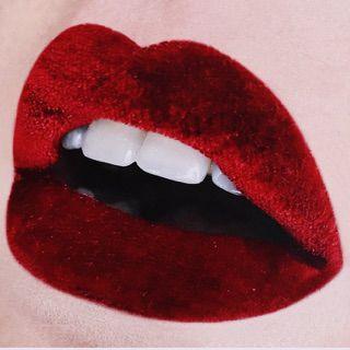 Red Lips + Velvet