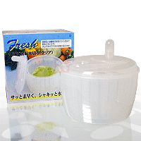 Origem:  China     Fabricante: Pearl Metal Escorredor de Salada Fresh Salad Kaiten Mizukiri