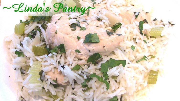 ~Cilantro Lime Chicken & Rice In The Power Presure Cooker XL With Linda'...
