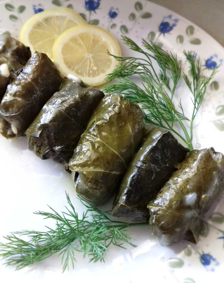 Traditional Greek Stuffed Vine Leaves - Powered by @ultimaterecipe