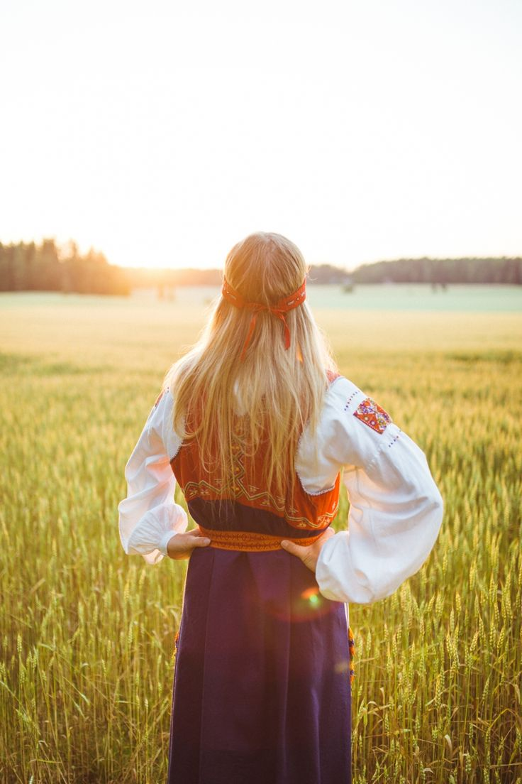 Viljapelto kansallispuku - Finland
