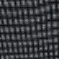Armani Black and White Checkered Stretch Wool Suiting