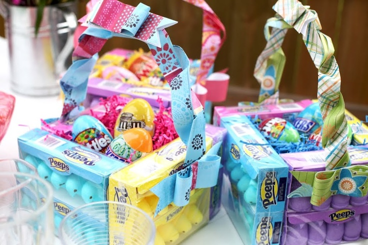 Easter - Candy baskets for our guests! :)