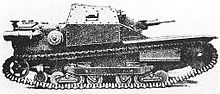 Small Little Italian tank used for speed and precision in combat in Africa.