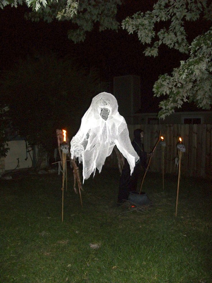 Outside Halloween Decorating Ideas
