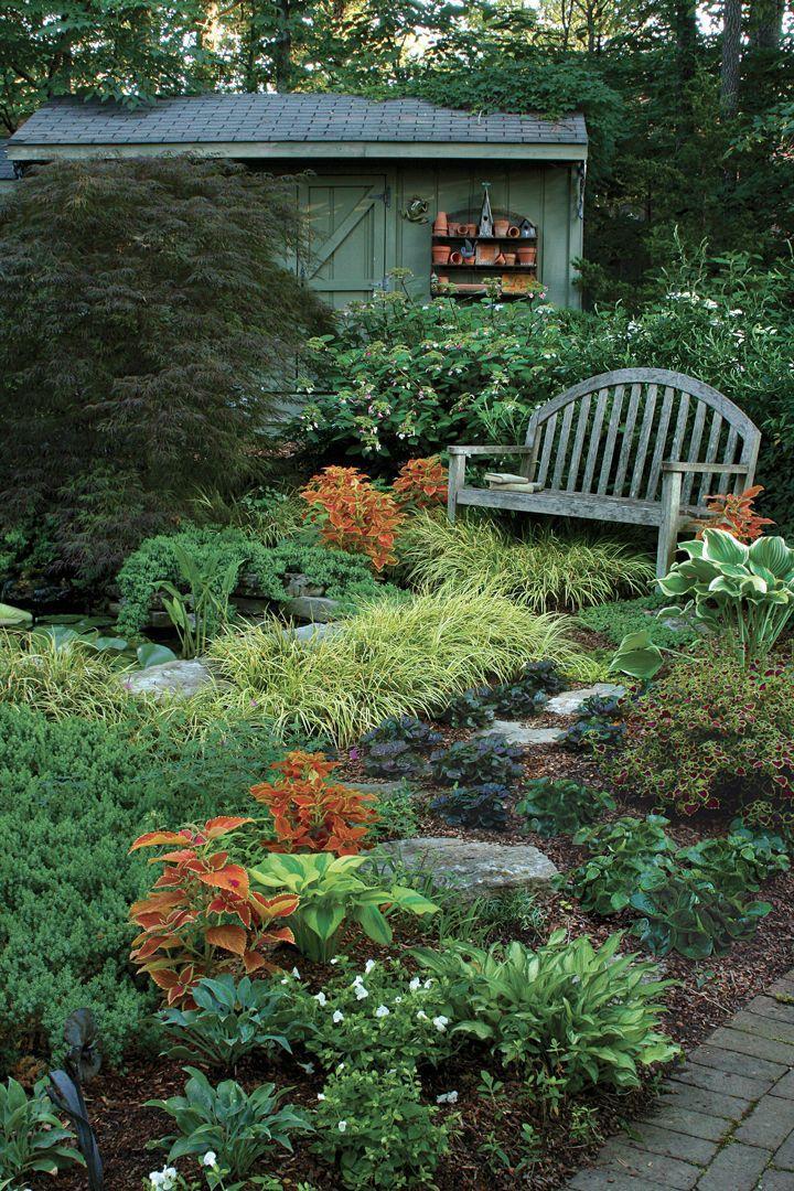 Dealing With Dry Shade Dealing Dry Shade Shade Garden Shade Garden Design Dry Garden