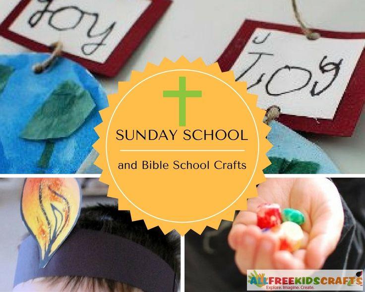 Vacation Bible School Craft Ideas Kids Part - 16: 43 Sunday School Crafts And Bible School Crafts For Kids