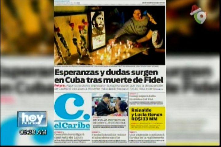 Las Portadas De Los Periódicos Del Día De Hoy 28-Noviembre-2016