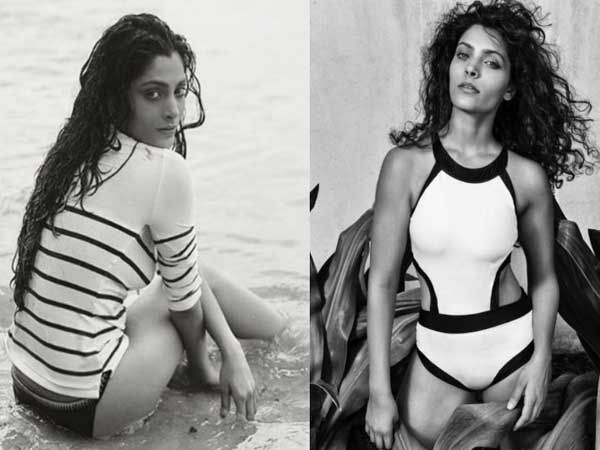 PICS: Saiyami Kher looks super sexy in these monochrome pictures from a photoshoot