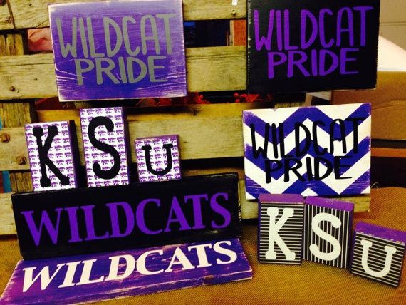 KState Wildcats Signs  Two Tomorrows on Etsy and Facebook