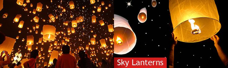 Paper Lanterns, Sky Lanterns, Candles/Holders, Silk Flowers and Decor Products From Just Artifacts