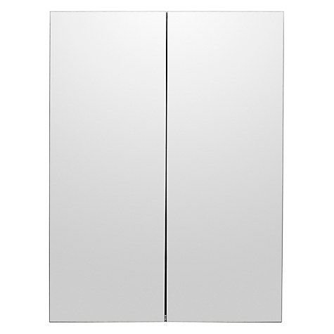 buy john lewis double mirrored bathroom cabinet stainless steel from our bathroom cabinets range at john lewis