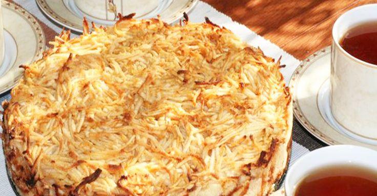 Секрет приготовления яблочного пирога с хрустящей сахарной корочкой и нежной начинкой