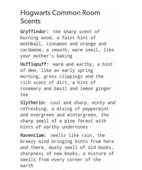 Common room scents