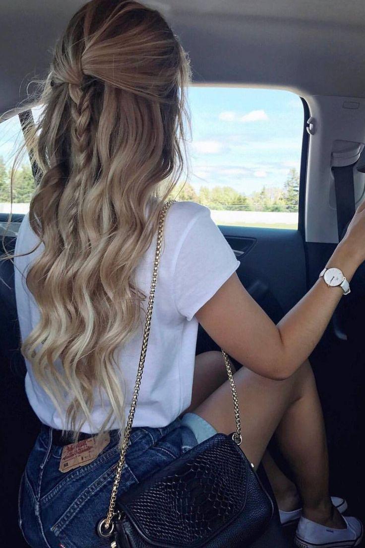 1. Weiche Wellen, die einer Richtung gegenüberstehen2. Ziehen Sie die Haare aus…