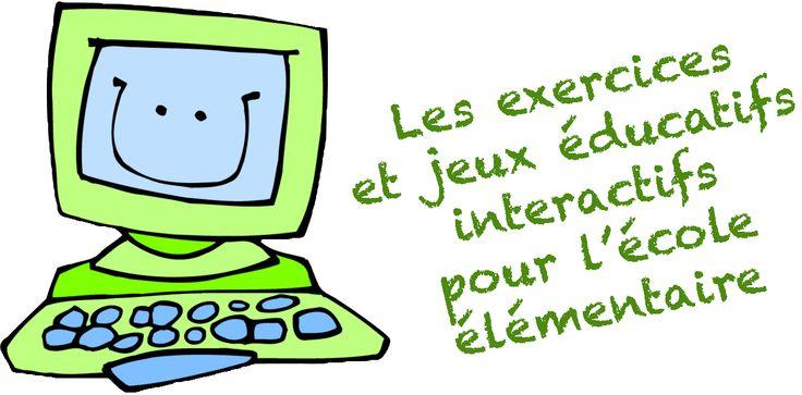 Maternelle 2.0: Selection d'exercices et jeux éducatifs interactifs pour l'élémentaire