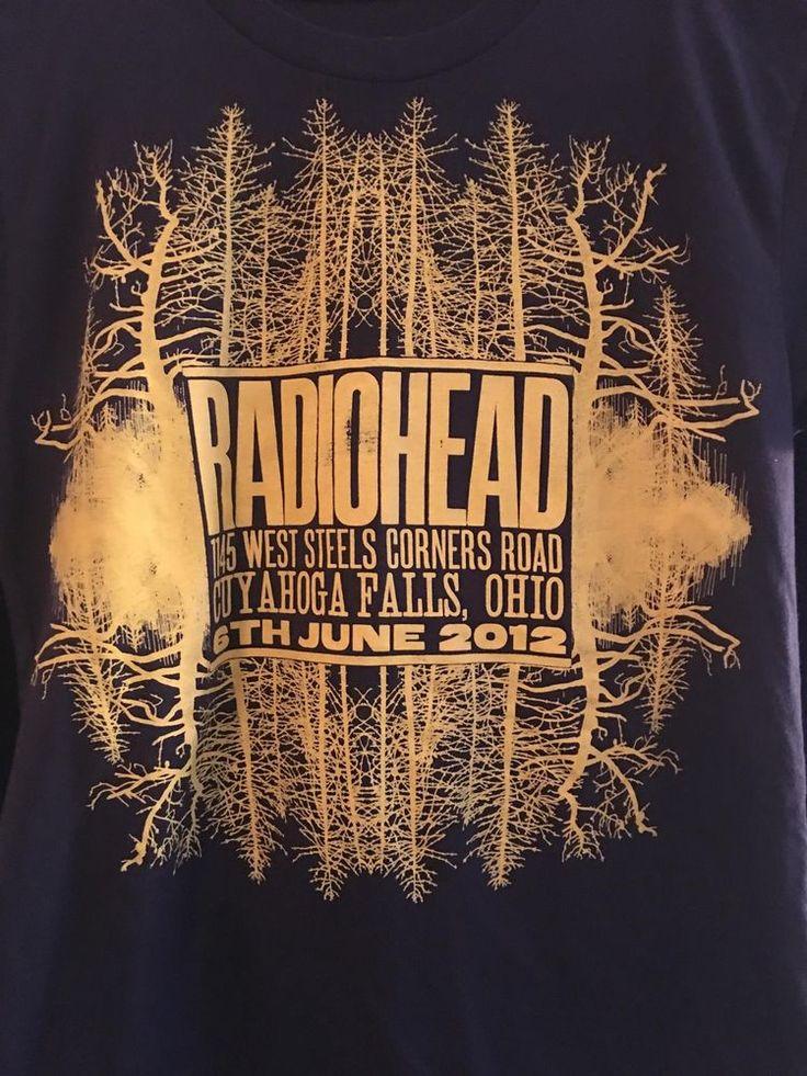 RadioHead Cuyahoga Fall, Ohio June 6th 2012 The King of Limbs Tour #NA #GraphicTee