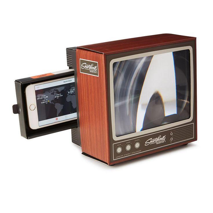 Retro TV Smartphone Magnifier Enhances Video Old-Fashioned ...