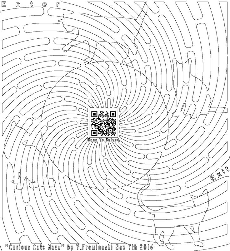 coloirng for adults page of curious cats maze
