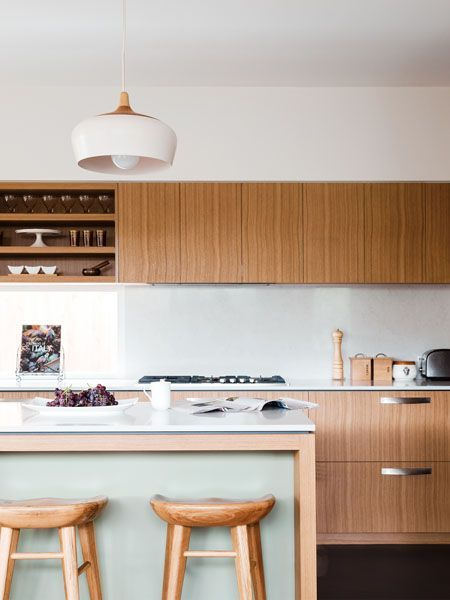 Lovely timber kitchen. Ascot Vale House – Gardiner Architects, Melbourne, Australia
