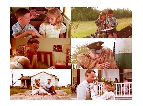 Forest Gump. Jenny and I was like peas and carrots