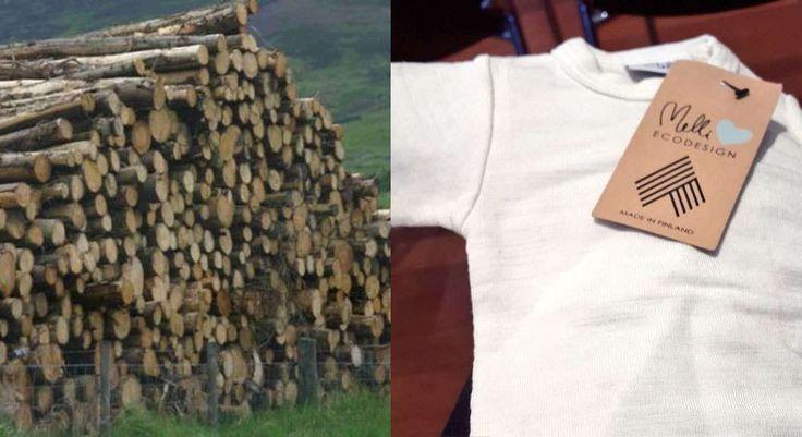 Startup finlandesa cria nova tecnologia sustentável para fabricar tecidos de madeira - Stylo Urbano #moda #sustentabilidade #madeira
