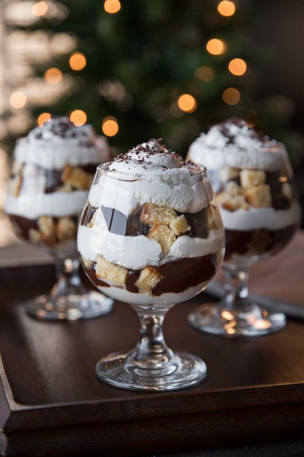 "New Years 2015 ""Midnight Kiss"" Amaretto Parfait"