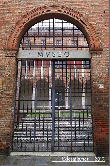 Museo Archeologico Nazionale di Ferrara - National Archaeological Museum of Ferrara, Italy, Photo1