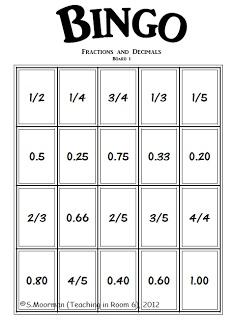 117 best Classroom- Fractions, Decimals, Percentages images on ...