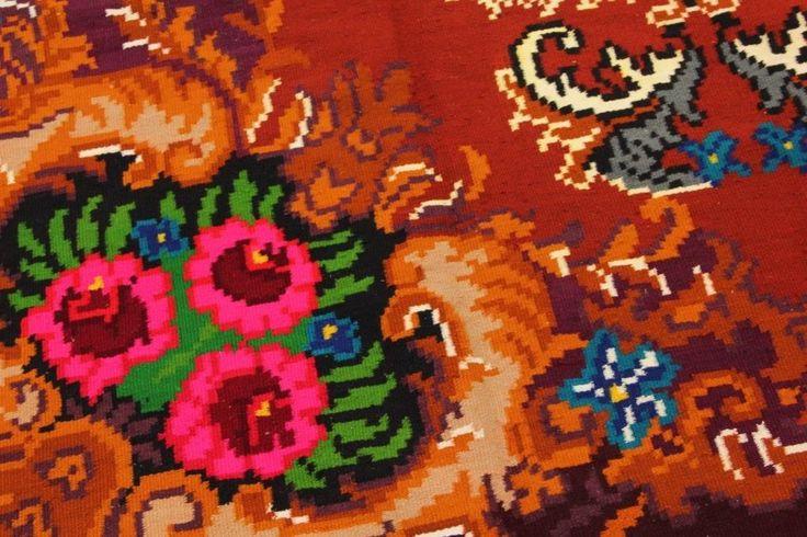 Rozenkelim, 310cm x 194cm   Rozenkelim.nl - Groot assortiment kelim tapijten