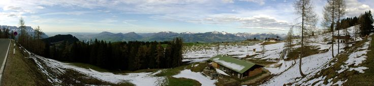 Rossfeld bei Berchtesgaden Panorama