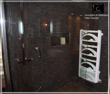 Les 37 meilleures images du tableau sdb loft sur pinterest for Dicor sal de bain
