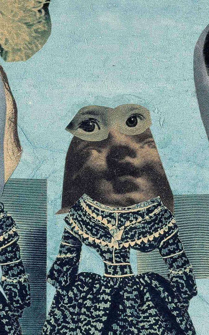 Fashion Show, 1925-35 (detail) by Hannah Höch