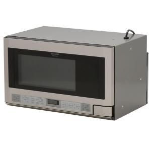 Sharp 1.5 cu. ft. Over the Counter Microwave in Stainless Steel with Sensor Cooking Technology R1214TY at The Home Depot - Mobile