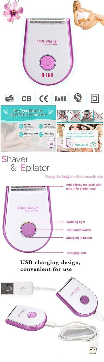 Womens Shavers: Waterproof Electric Shaver Hair Removal Clipper Device Women Bikini Underarm Wet -> BUY IT NOW ONLY: $33.31 on eBay!