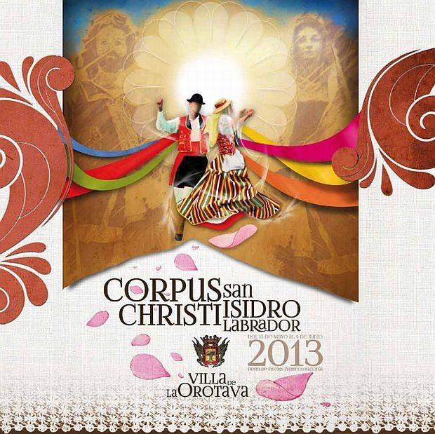 Corpus Christi La Orotava - Kleurrijke tapijten van bloemen en vulkanisch zand, speciaal gemaakt voor de viering van Corpus Christi tijdens de achtste dag..