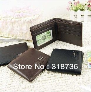 Free shipping new men's fashion casual high-quality artificial leather horizontal wallet / wallet L004 US $3.69