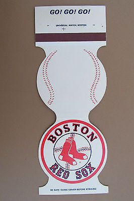 Boston Red Sox Matchbook Cover - 1980 Game Schedule on back